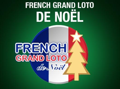 French Grand Loto de Noël