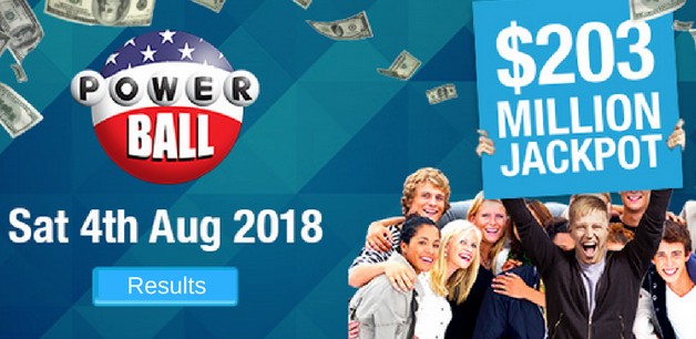 Powerball Draw Results For Saturday August 4 - OneLotto